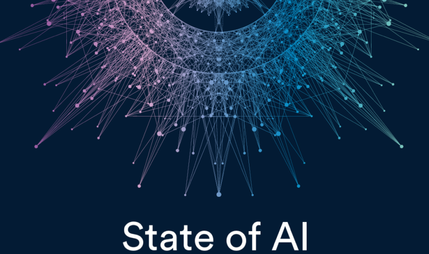 "Illustration that says ""state of AI"""